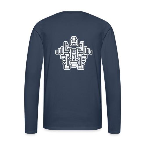 Maya - T-shirt manches longues Premium Homme