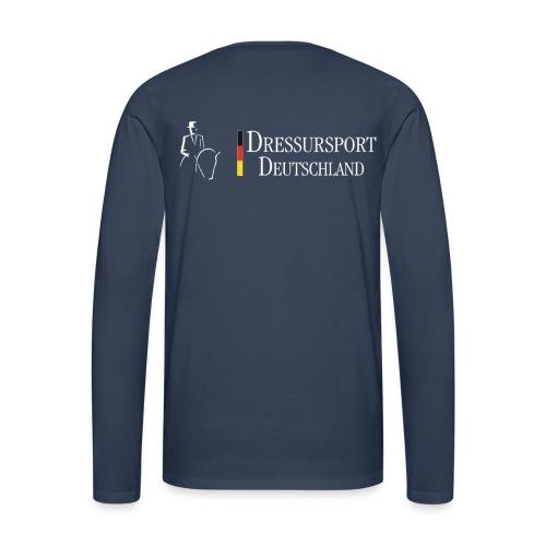 dressursport deutschland horizontal r - Männer Premium Langarmshirt