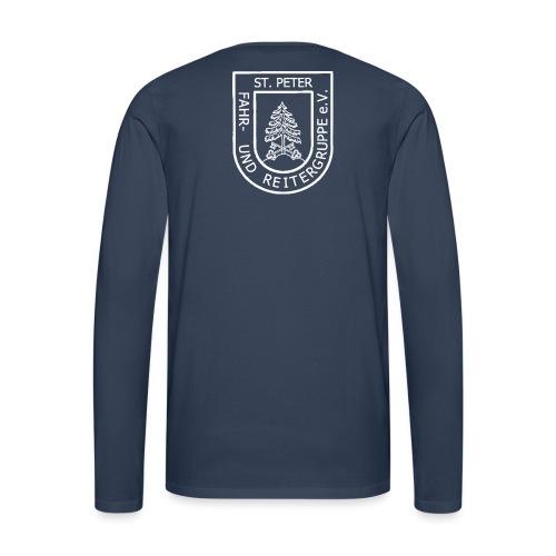FURG_Logo_weiß_2 - Männer Premium Langarmshirt