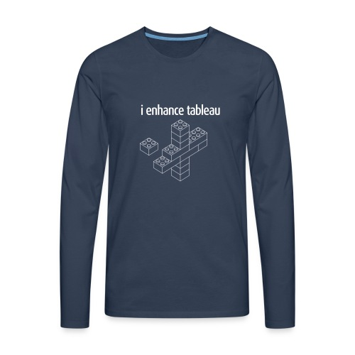 I Enhance Tableau - Men's Premium Longsleeve Shirt