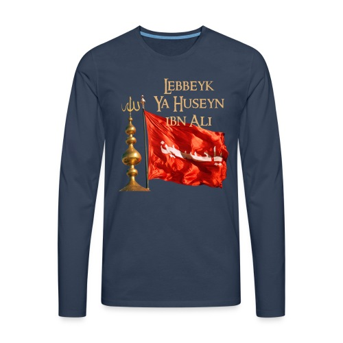 Lebbeyk Ya Huseyn - Männer Premium Langarmshirt