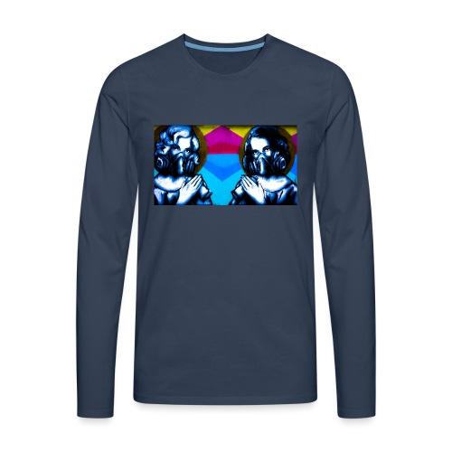 Monroe - Herre premium T-shirt med lange ærmer