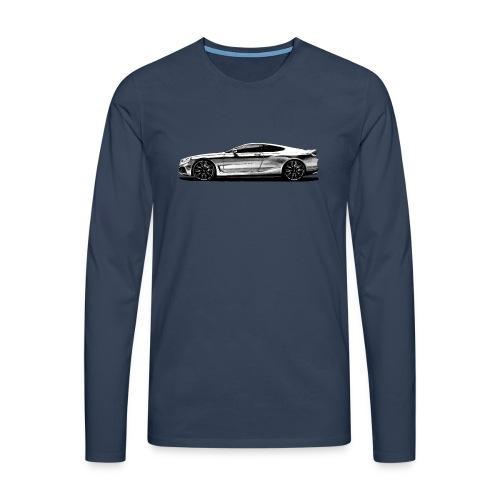 serie 8 Concept car - Camiseta de manga larga premium hombre