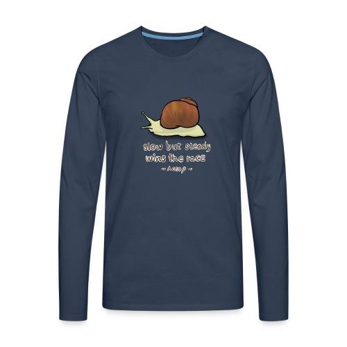 Snail - Men's Premium Longsleeve Shirt