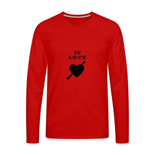 I'm In Love - Maglietta Premium a manica lunga da uomo