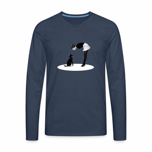 Chica - Men's Premium Longsleeve Shirt