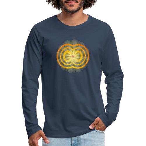 leuchtende / strahlende unendliche Liebe - Spirit - Männer Premium Langarmshirt