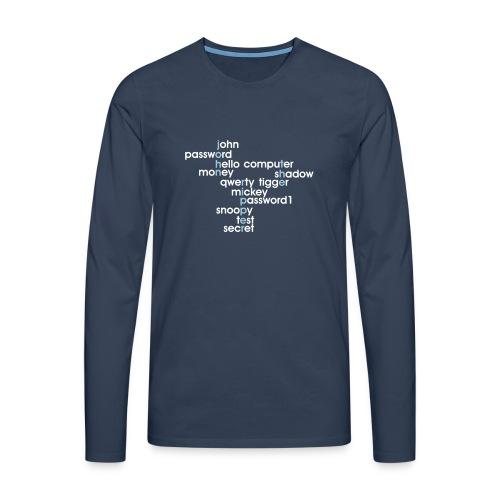 John The Ripper Crossword(III) - Men's Premium Longsleeve Shirt