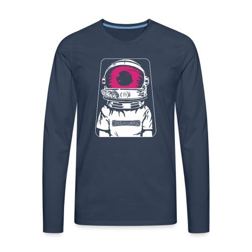 CosmoMedia 2 - Camiseta de manga larga premium hombre