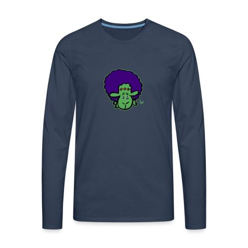 Frankensheeps monster - Premium langermet T-skjorte for menn