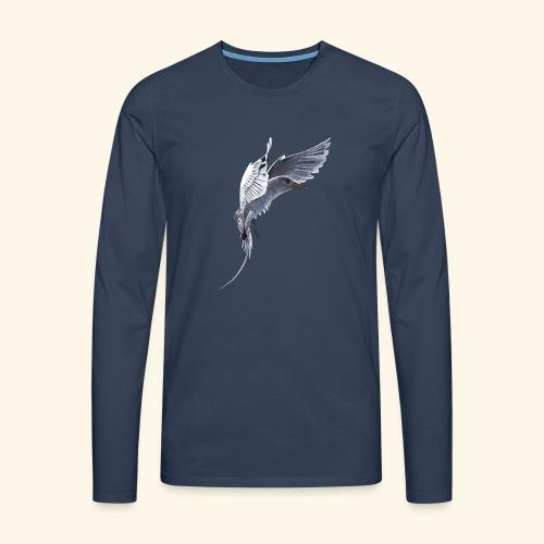 Weißschwanz Tropenvogel - Männer Premium Langarmshirt