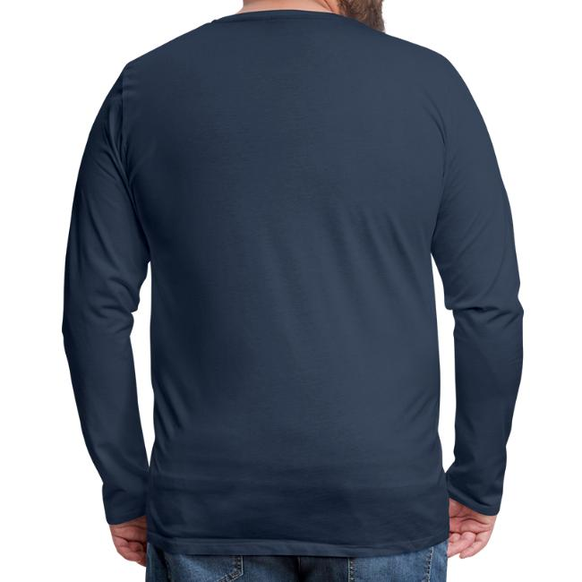Vorschau: A Hirn wia a Nudlsieb - Männer Premium Langarmshirt