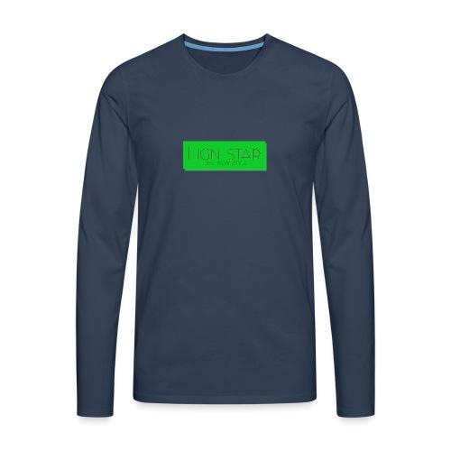 Untitled 3 png - Herre premium T-shirt med lange ærmer