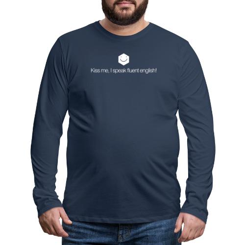 Kiss me - Men's Premium Longsleeve Shirt