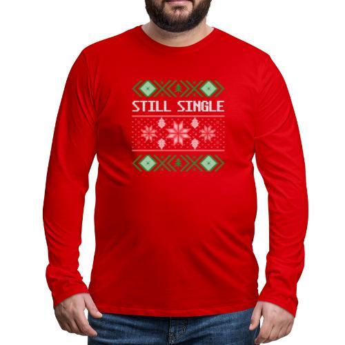 Morsom julegenser - Premium langermet T-skjorte for menn