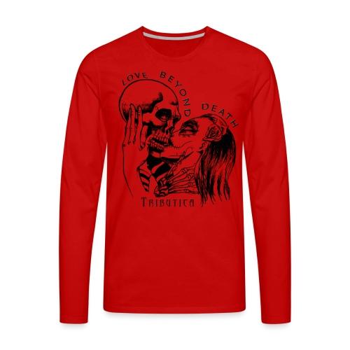 Love beyond Death Colourful - Männer Premium Langarmshirt