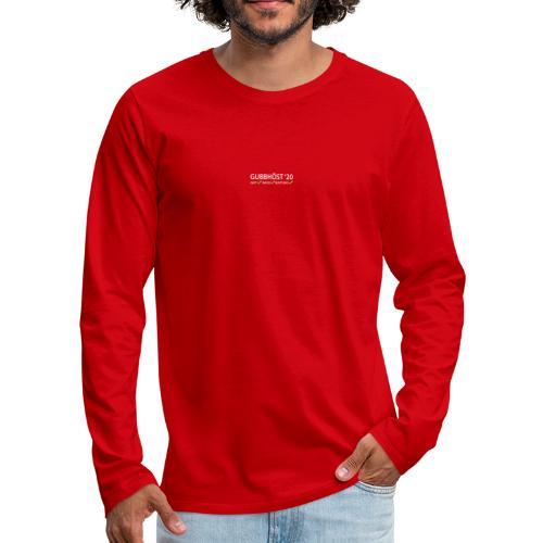 Gubbhöst 2020 - Långärmad premium-T-shirt herr