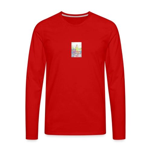 Brindisi - Maglietta Premium a manica lunga da uomo