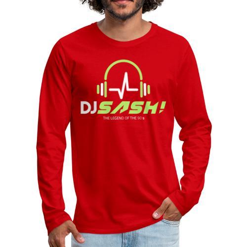 DJ SASH! - Headfone Beep - Men's Premium Longsleeve Shirt