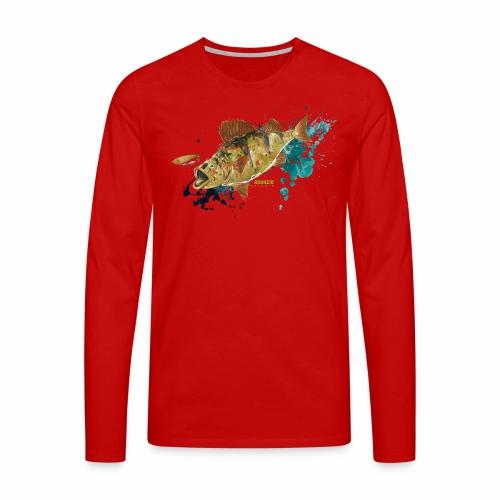 Camo Perch 1.1 - Men's Premium Longsleeve Shirt