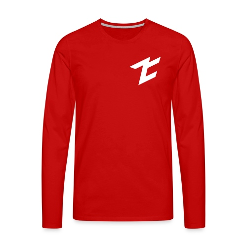 Logo ZehClan 2D - T-shirt manches longues Premium Homme