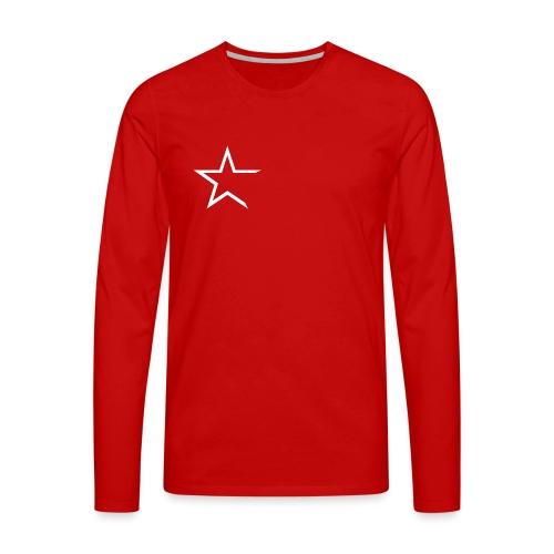 Team Kleding - Mannen Premium shirt met lange mouwen