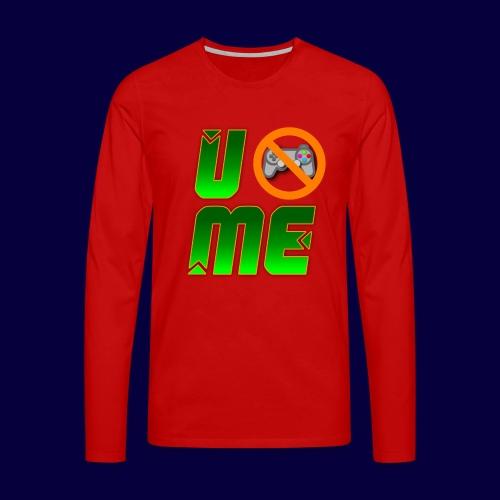 Ucant1-orange - Männer Premium Langarmshirt