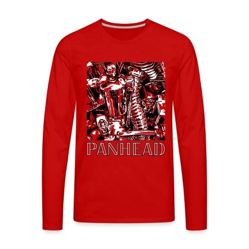 Panhead motordetail 03 - Mannen Premium shirt met lange mouwen