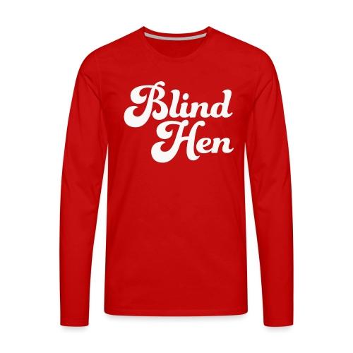 Blind Hen - Bum bag, black - Men's Premium Longsleeve Shirt
