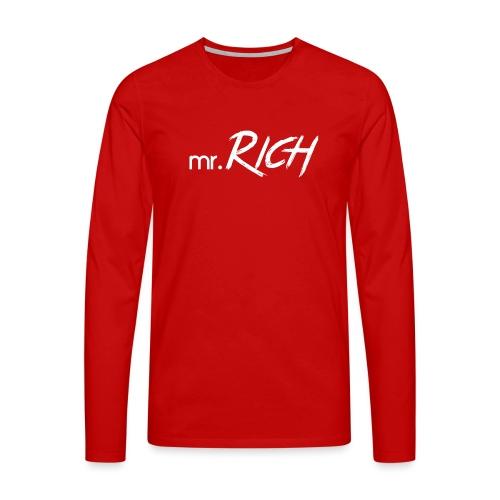 Mr. Rich - Männer Premium Langarmshirt