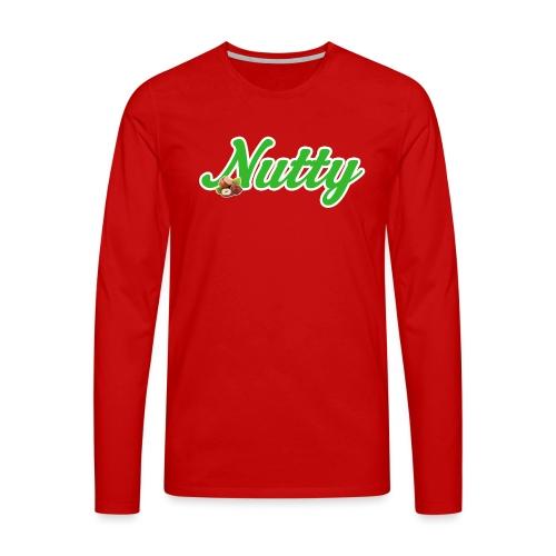 Nutty - Männer Premium Langarmshirt