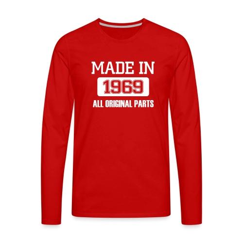 Made in 1969 - Men's Premium Longsleeve Shirt