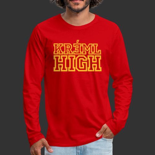 Kreml High - Långärmad premium-T-shirt herr
