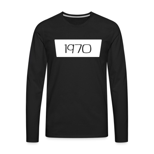 1970 - Mannen Premium shirt met lange mouwen
