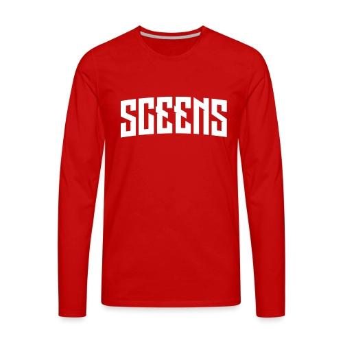 Sceens Premium T-Shirt Mannen - Mannen Premium shirt met lange mouwen