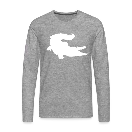 Metal Gear Online - Crocodile Rank - Maglietta Premium a manica lunga da uomo