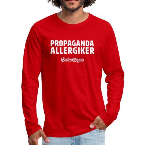 Propaganda Allergiker - Männer Premium Langarmshirt