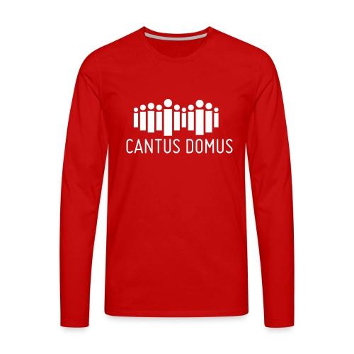 Cantus Domus Logo ohne Untertitel 2c - Männer Premium Langarmshirt