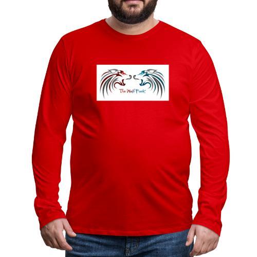 Jeffery - Premium langermet T-skjorte for menn