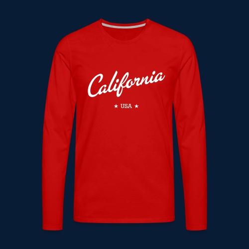 California - Männer Premium Langarmshirt