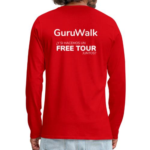 ¿Y si hacemos un free tour juntos? - Camiseta de manga larga premium hombre