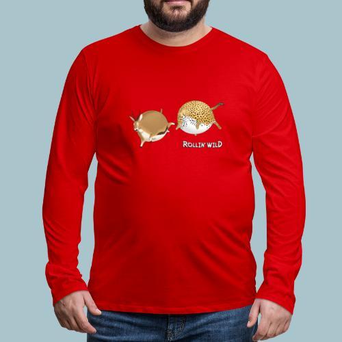 Rollin' Wild - the chase - Men's Premium Longsleeve Shirt