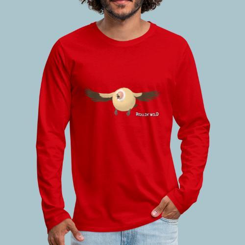 Rollin' Wild - Vulture - Men's Premium Longsleeve Shirt