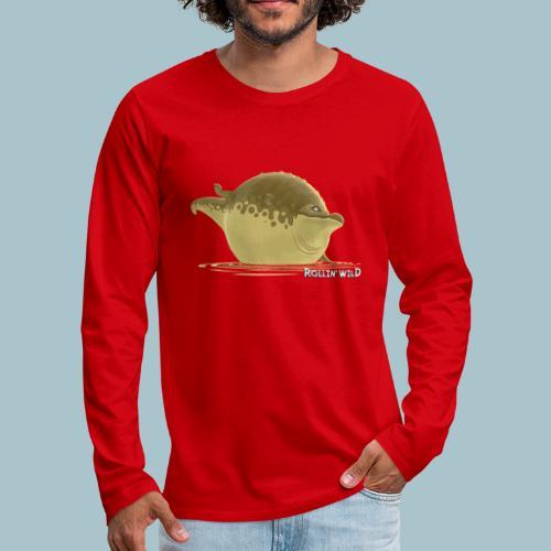 Rollin' Wild - Crocodile - Men's Premium Longsleeve Shirt