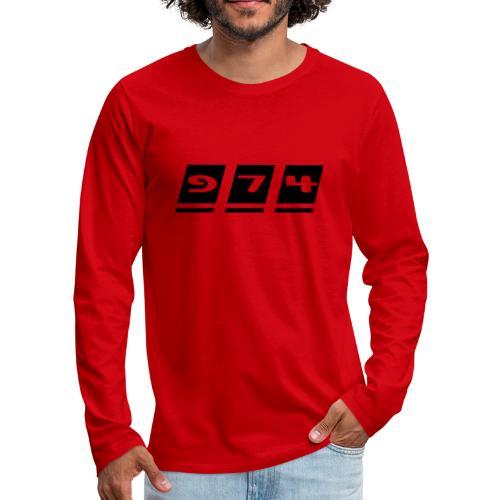 Ecriture 974 - T-shirt manches longues Premium Homme