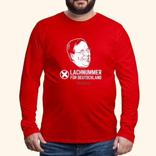 Lachnummer für Deutschland - Männer Premium Langarmshirt