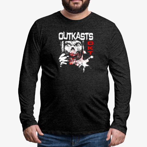 Outkasts Scum OKT Front - Men's Premium Longsleeve Shirt