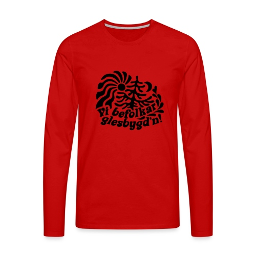 GLESGYGD'N - Långärmad premium-T-shirt herr