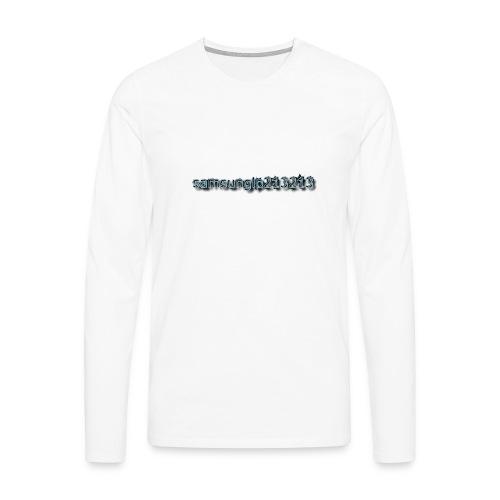 none - Männer Premium Langarmshirt