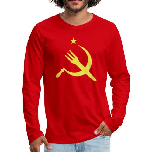 Fourchette en sikkel - USSR - belgië - belgique - T-shirt manches longues Premium Homme